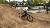 Slopestyle fiets — Stockfoto