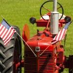 Farm tractor — Stock Photo