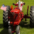 Farm tractor — Stock Photo