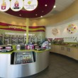 Foto Stock: Frozen Yogurt Store