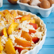 Peach Pie - Stock Photo