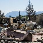 Waldo Canyon Fire 2012 — Stock Photo #12125937