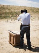 Target Shooting — Stock Photo