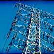 Lomo Close-up Power Transmission Tower — Stock Photo