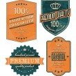 Vintage Labels — Stock Vector #10783511