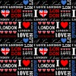 London Background — Vettoriali Stock