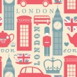London Background — Vector de stock #10806142