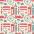 London Background - Stock Vector