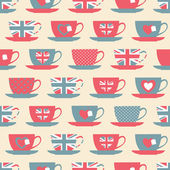 Teatime Background — Stok Vektör