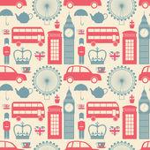 伦敦背景 — 图库矢量图片