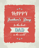 Father's Day Card — Stockvector