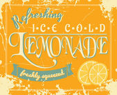 Lemonade Label — Stockvector