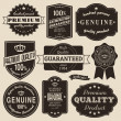 Royalty-Free Stock Векторное изображение: Vintage Labels Set