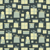Christmas Presents Background — Stock Vector