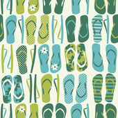 Flip Flops Background — Vector de stock