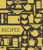 Recipes Card — Vetorial Stock
