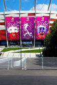 2012 European Football Championship. Warsaw. Poland — Stock Photo