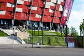 NATIONAL STADIUM IN WARSAW, Euro 2012 — Stock Photo