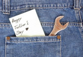 Happy Father's Day — Stockfoto