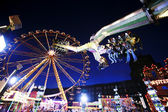Fun at the fairground — Stock Photo
