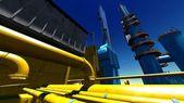 Refinery — Stok fotoğraf