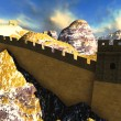 图库照片: The Great Wall of China