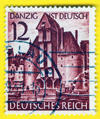 GERMANY - CIRCA 1938: A stamp printed in Germany   — Stock Photo