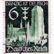GERMANY - CIRCA 1938: A stamp printed in Germany showing the c — Stock Photo