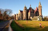 ポーランドの moszna 城. — ストック写真