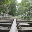 Old railway track - Foto Stock