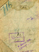 Pasaporte soviético — Foto de Stock