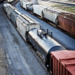 rail cars — Stock Photo