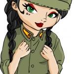 Soldier — Stock Vector #10778894