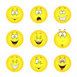 Set of smileys — Stock Vector #11478307