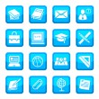 School and education icons — Stock Vector #12077964