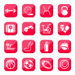 Fitness and sport icons — Stock Vector #12112461