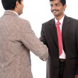 Two Indian business — Stock Photo