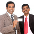 Two Indian business people — Stock Photo