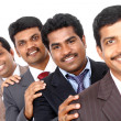 Stock Photo: Group of Indibusiness people
