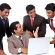 A Successful Indian business team  — Stock Photo