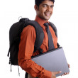 Indian young college student - Stock Photo