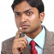 Indian business man portrait — Stock Photo