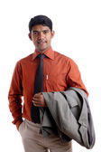 Indian young business man portrait — Stock Photo