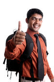 Indian young college student — Stock Photo
