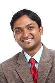 Indian business man portrait — Stock Photo