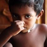 Cute indian little boy — Stock Photo #12071794