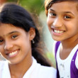 Beautiful Indian girls — Stock Photo