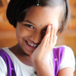 Beautiful Indian little girl - Stock Photo