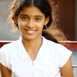 Indian beautiful teen girl - Stock Photo