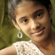 Indian beautiful teen girl — Stock Photo